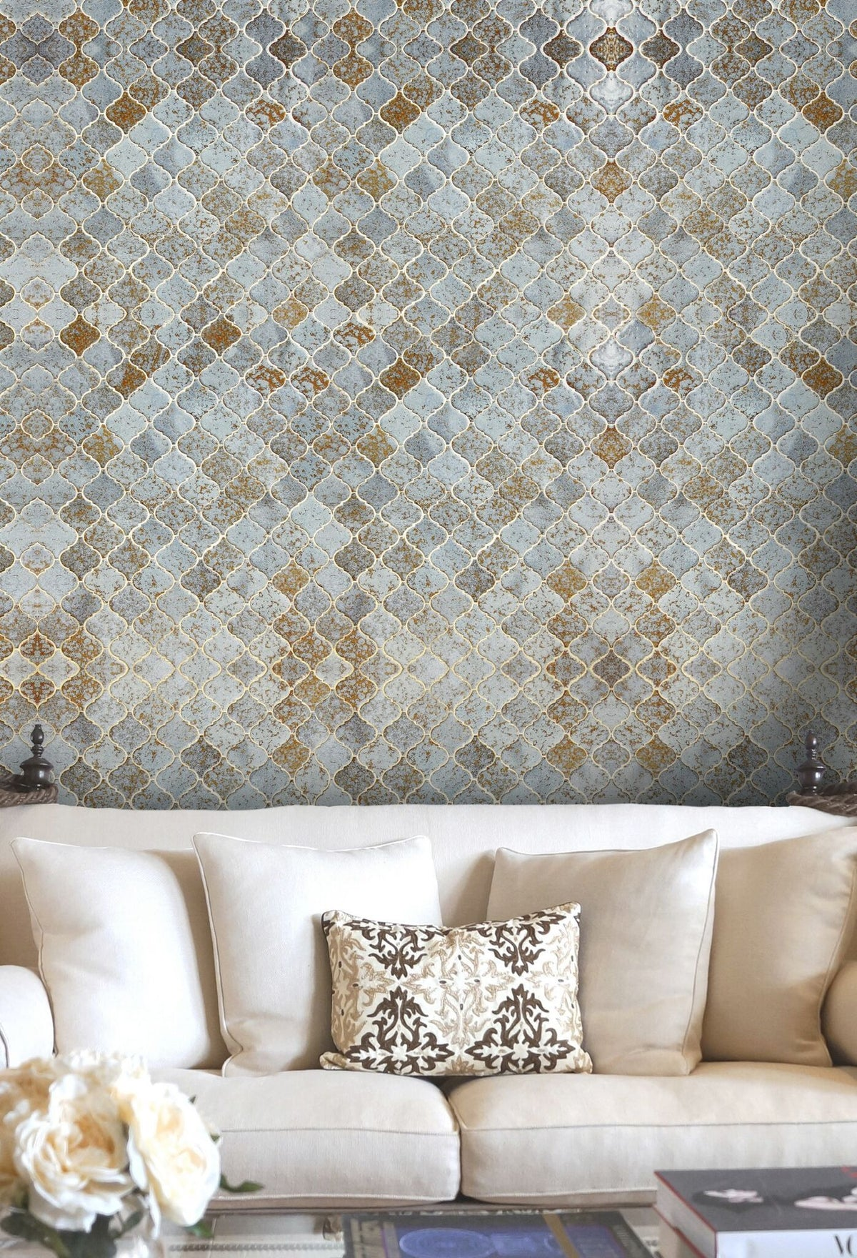 Morocco Tiles Wallpaper-Mind The Gap-Contract Furniture Store