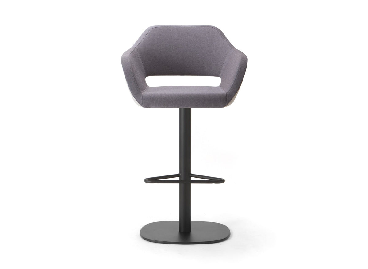 Manu 07 High Stool c/w Swivel Base-Torre-Contract Furniture Store