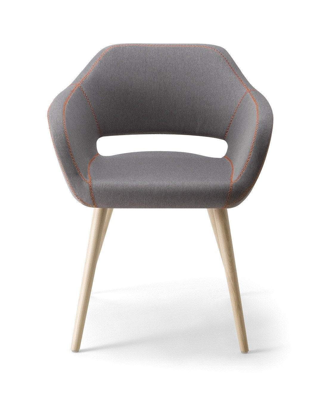 Manu 04 Armchair c/w Wood Legs-Torre-Contract Furniture Store