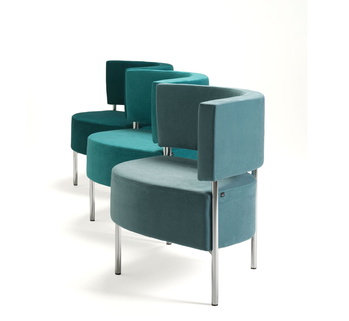 Chain Modular Easychair Unit-Mitab-Contract Furniture Store