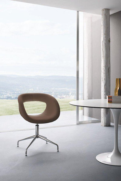 Moema Side Chair c/w Spider Base-Gaber-Contract Furniture Store