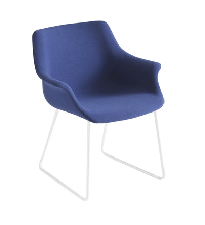 More Side Chair c/w Sled Legs-Gaber-Contract Furniture Store