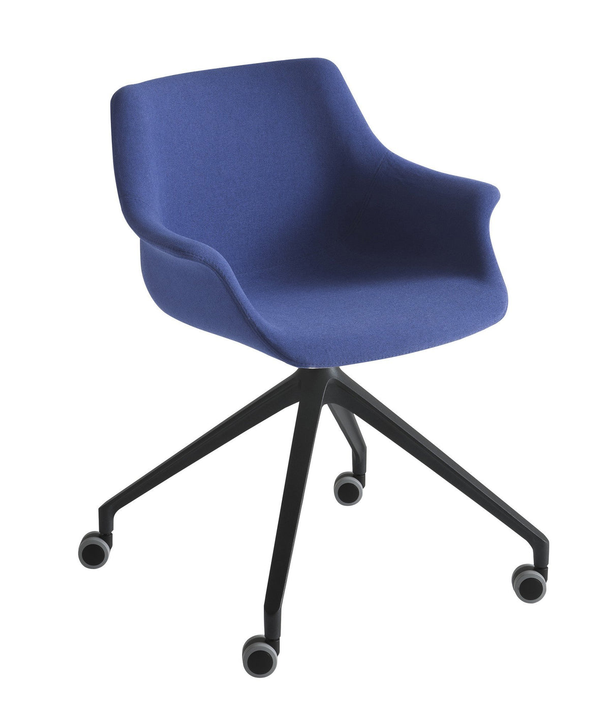 More Side Chair c/w Spider Wheels-Gaber-Contract Furniture Store