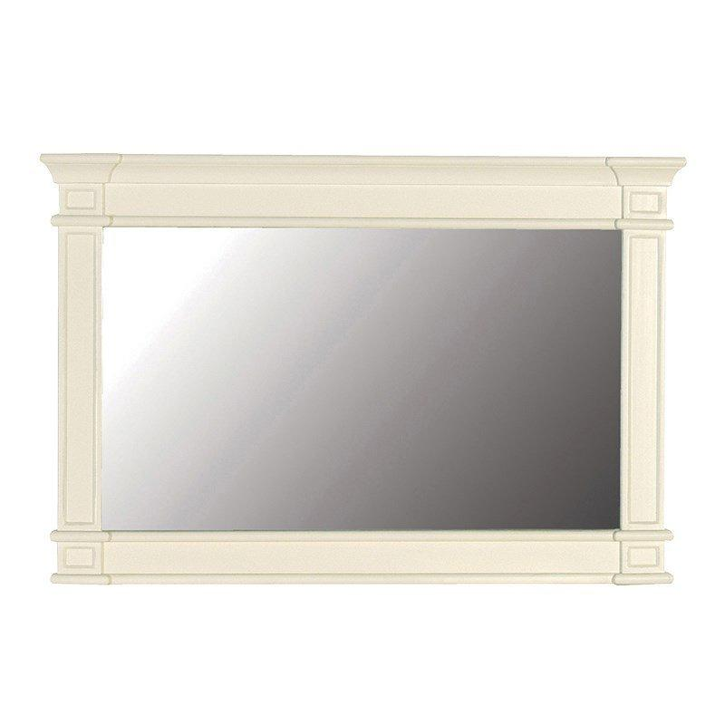 Cream Fayence Overmantel Mirror-Coach House-Contract Furniture Store