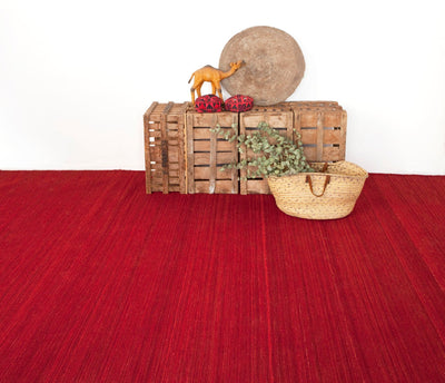 Natural Nomad Deep Red Rug-Nanimarquina-Contract Furniture Store