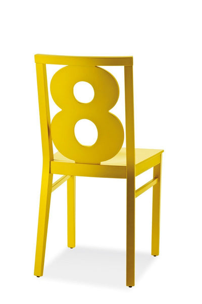 Numbers Side Chair-Copiosa-Contract Furniture Store
