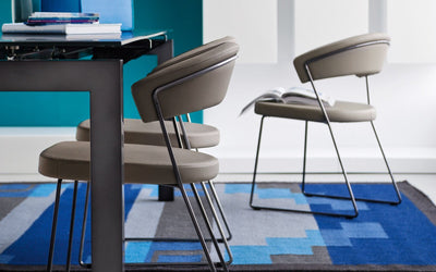 New York Side Chair c/w Sled Legs-Calligaris-Contract Furniture Store