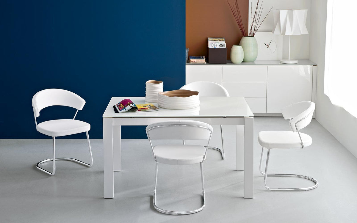 New York Side Chair c/w Cantilever Legs-Calligaris-Contract Furniture Store