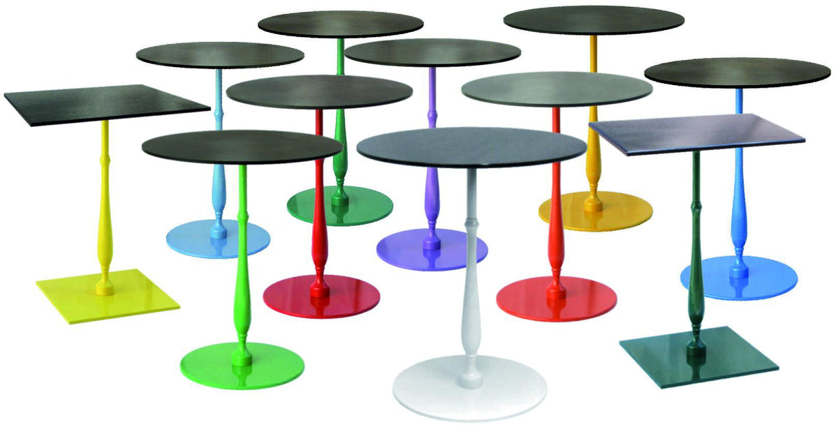 Color Lib Round Dining Base-Vela-Contract Furniture Store