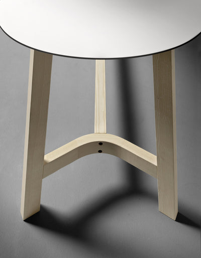 Nomad Rond T08 Poseur Table-Very Wood-Contract Furniture Store