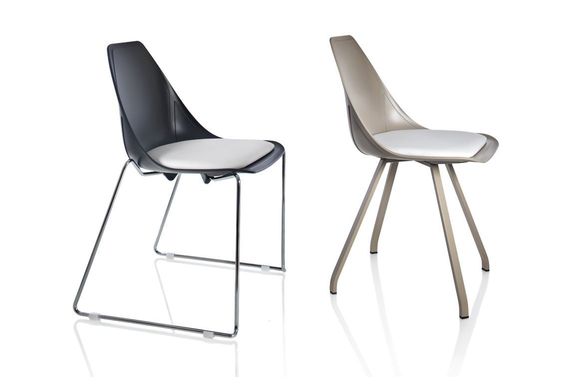 X-Sled Side Chair-Alma Design-Contract Furniture Store