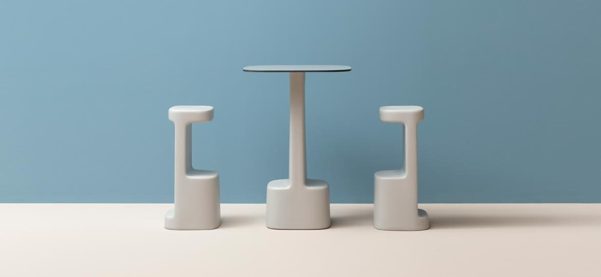 Serif 860 High Stool-Pedrali-Contract Furniture Store