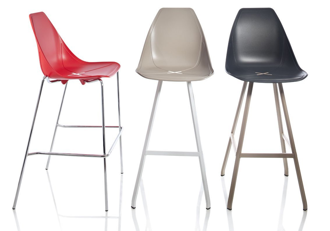 X-Spider High Stool-Alma Design-Contract Furniture Store