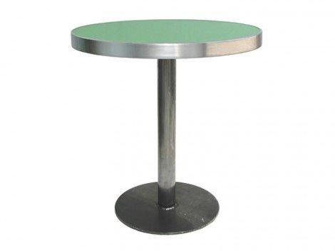 Slim Weld Small Round Dining Base-Vela-Contract Furniture Store