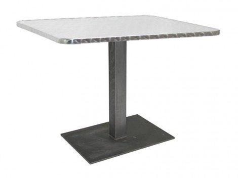 Slim Weld Rect Dining Base-Vela-Contract Furniture Store