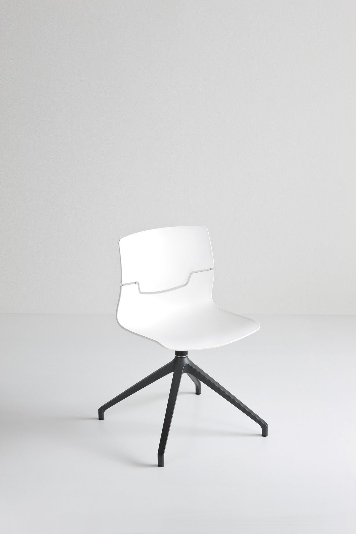 Slot Side Chair c/w Spider Base-Gaber-Contract Furniture Store