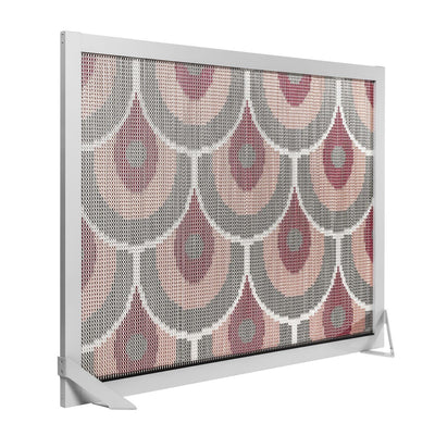 Barcelona Screen Divider Pink-Kriskadecor-Contract Furniture Store