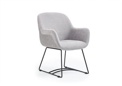 Samy Armchair c/w Sled Legs-X8-Contract Furniture Store