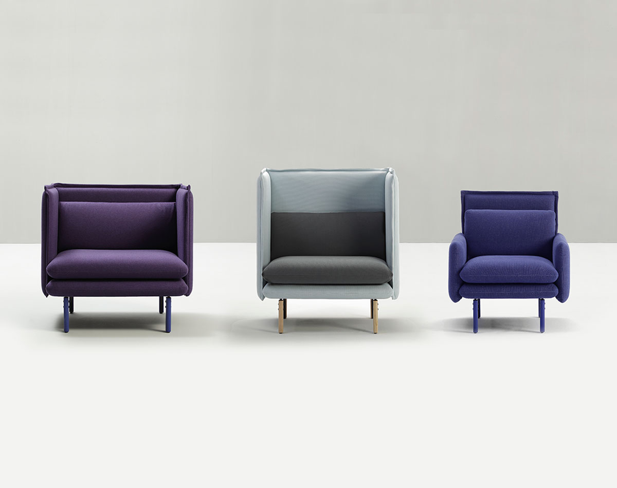 Rew 1S Modular Sofa Unit-Sancal-Contract Furniture Store