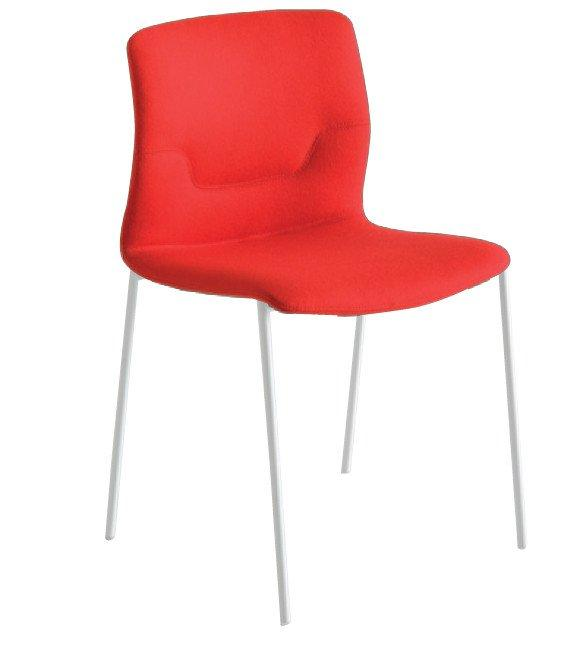 Slot Side Chair c/w Metal Legs-Gaber-Contract Furniture Store