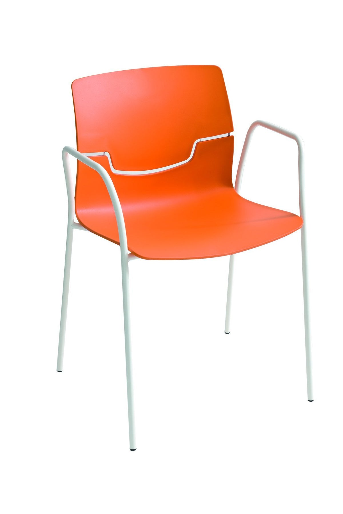 Slot Armchair c/w Metal Legs-Gaber-Contract Furniture Store