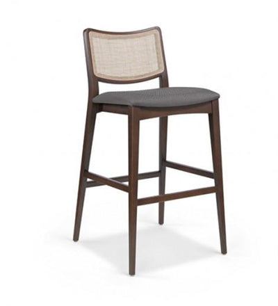Spirit Wicker High Stool-Fenabel-Contract Furniture Store