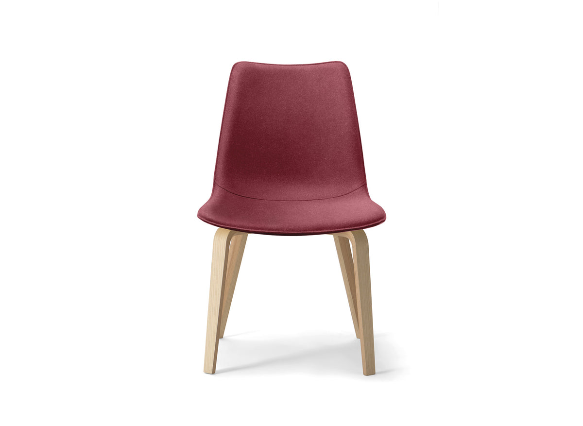 Spoon 01 Side Chair c/w Wood Legs 2-Torre-Contract Furniture Store