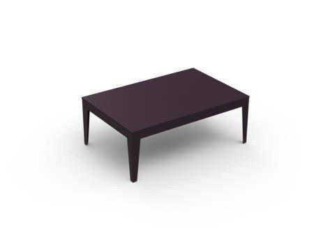 Zef Rectangular Low Table-Matière Grise-Contract Furniture Store