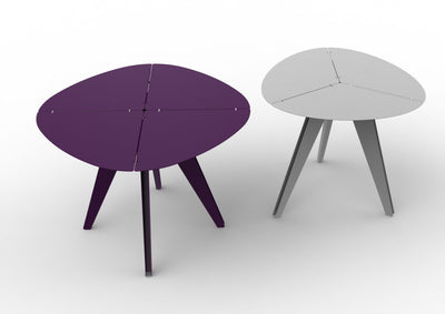 Loo Triangle Dining Table-Matière Grise-Contract Furniture Store
