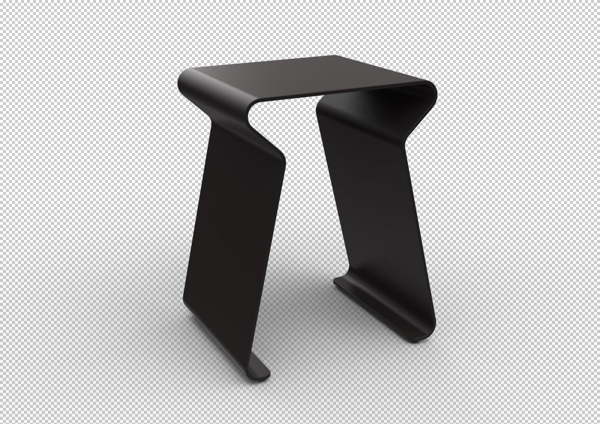 Fun Low Stool-Matière Grise-Contract Furniture Store