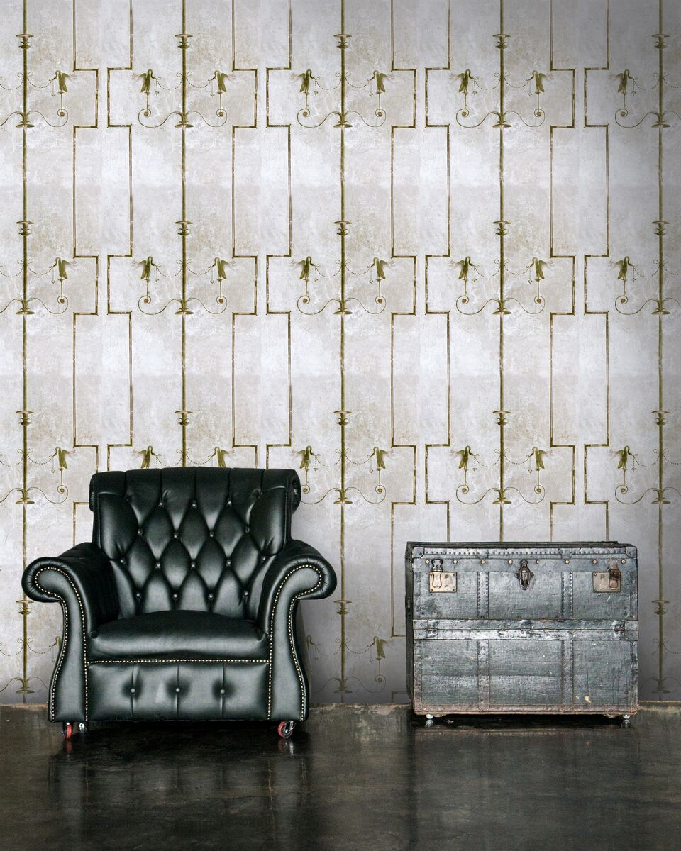 The Swan Wallpaper-Mind The Gap-Contract Furniture Store
