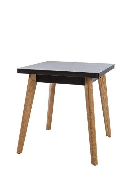 55 Table c/w Wood Legs-Tolix-Contract Furniture Store