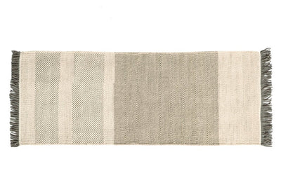 Tres Stripes Pearl Rug-Nanimarquina-Contract Furniture Store
