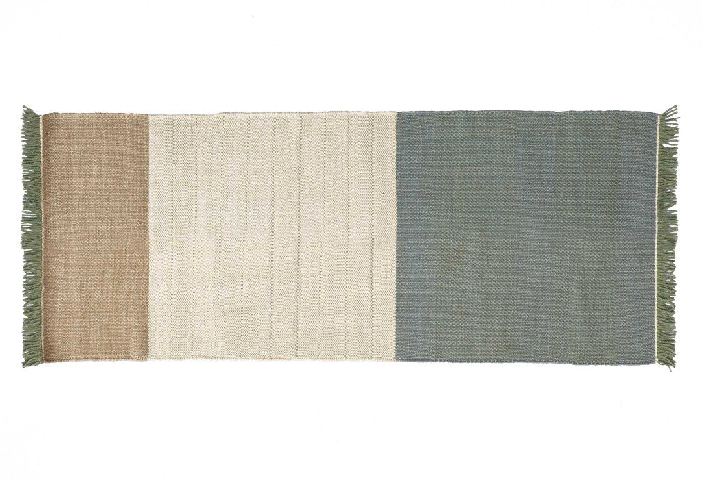 Tres Stripes Sage Rug-Nanimarquina-Contract Furniture Store
