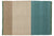 Tres Stripes Green Rug-Nanimarquina-Contract Furniture Store