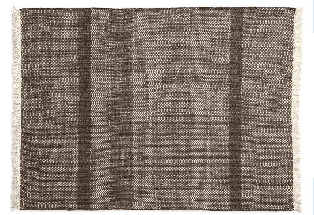 Tres Texture Chocolate Rug-Nanimarquina-Contract Furniture Store