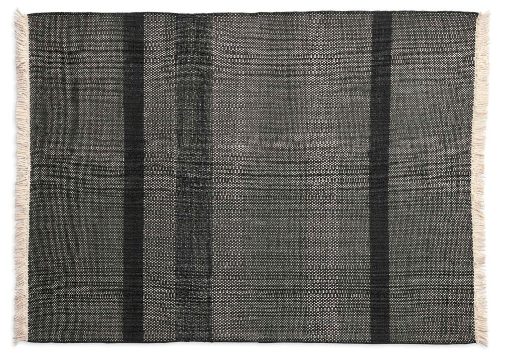 Tres Texture Black Rug-Nanimarquina-Contract Furniture Store