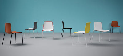 Tweet Two Tone 897 Side Chair-Pedrali-Contract Furniture Store