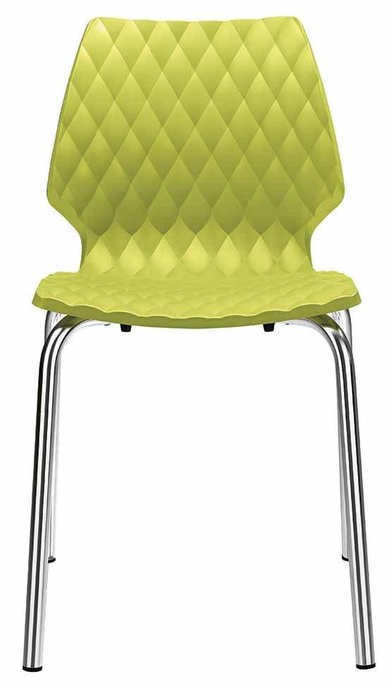 Uni Side Chair c/w Metal Legs-Metalmobil-Contract Furniture Store