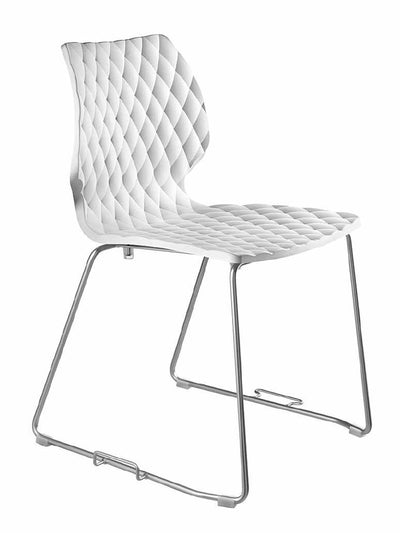 Uni Side Chair c/w Sled Legs-Metalmobil-Contract Furniture Store