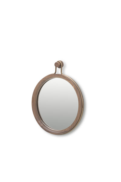 Utility Round Mirror Small-Stellar Works-Contract Furniture Store