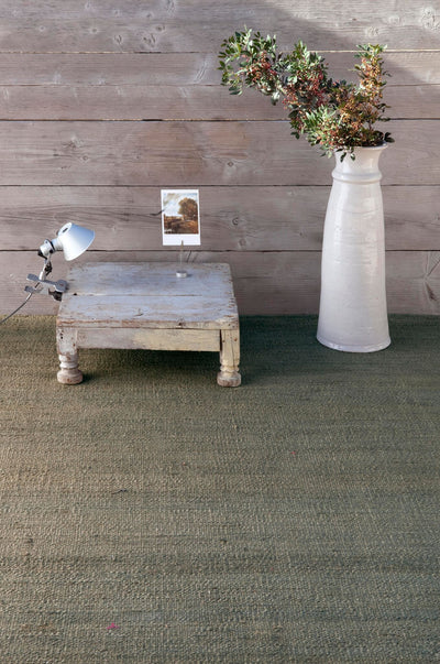 Natural Vegetal Greenish Grey Rug-Nanimarquina-Contract Furniture Store