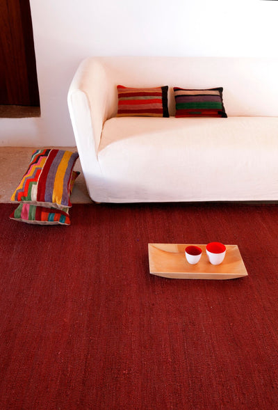 Natural Vegetal Garnet Rug-Nanimarquina-Contract Furniture Store