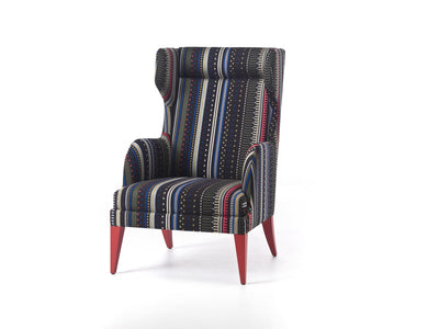 Onda Bergere Wing Lounge Chair-Very Wood-Contract Furniture Store