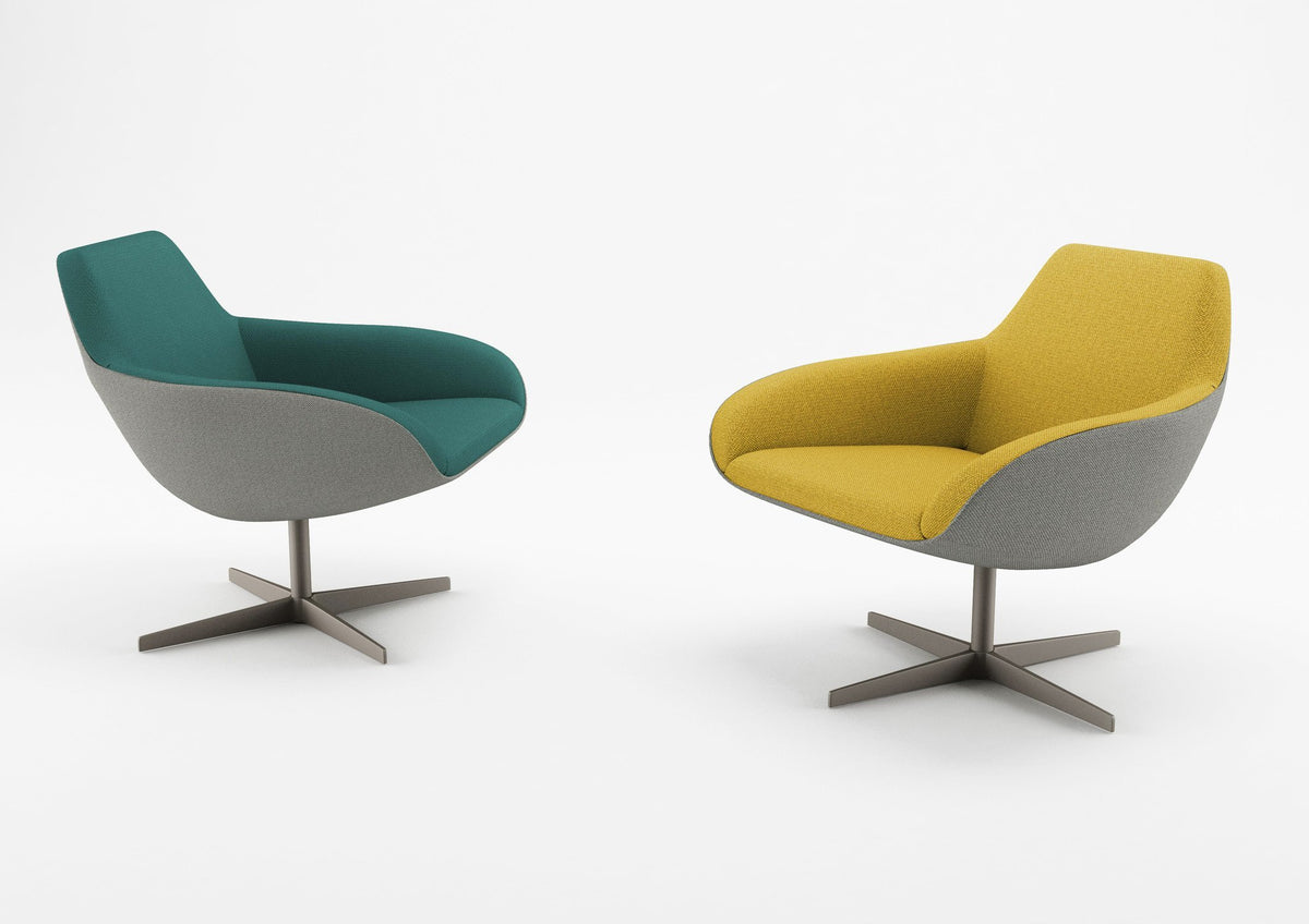 X-Big Four Lounge Chair-Alma Design-Contract Furniture Store
