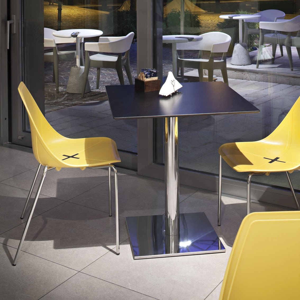 X-Four Side Chair-Alma Design-Contract Furniture Store