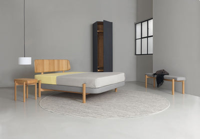 Kosi Board Double Bed-Zeitraum-Contract Furniture Store