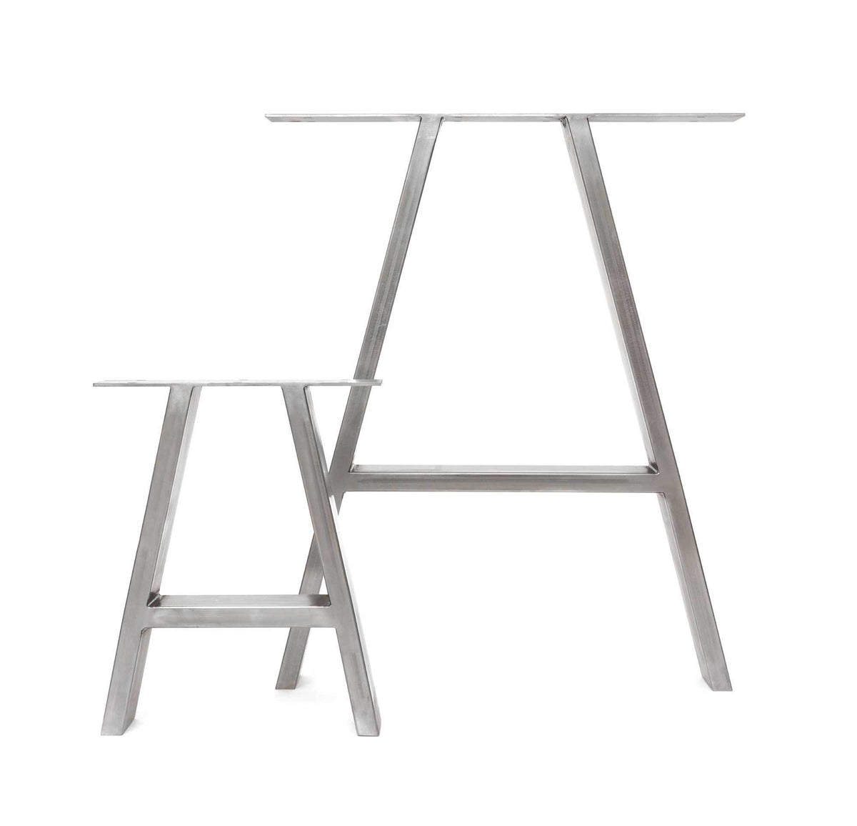 A-Frame Industrial Leg Dining Base-Hairpin-Contract Furniture Store