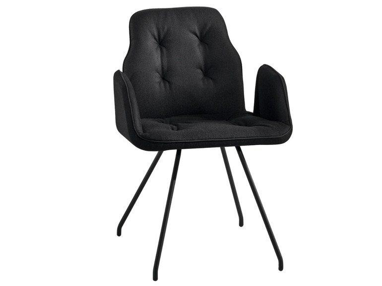 Betibú Armchair c/w Metal Legs-Chairs & More-Contract Furniture Store