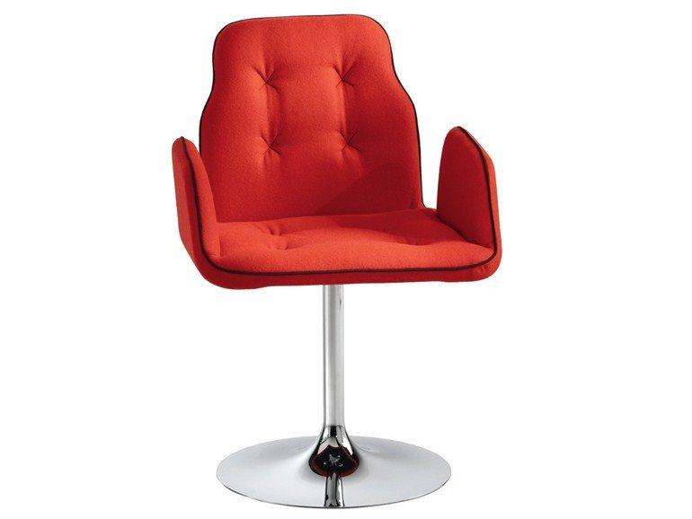 Betibú Armchair c/w Trumpet Base-Chairs & More-Contract Furniture Store